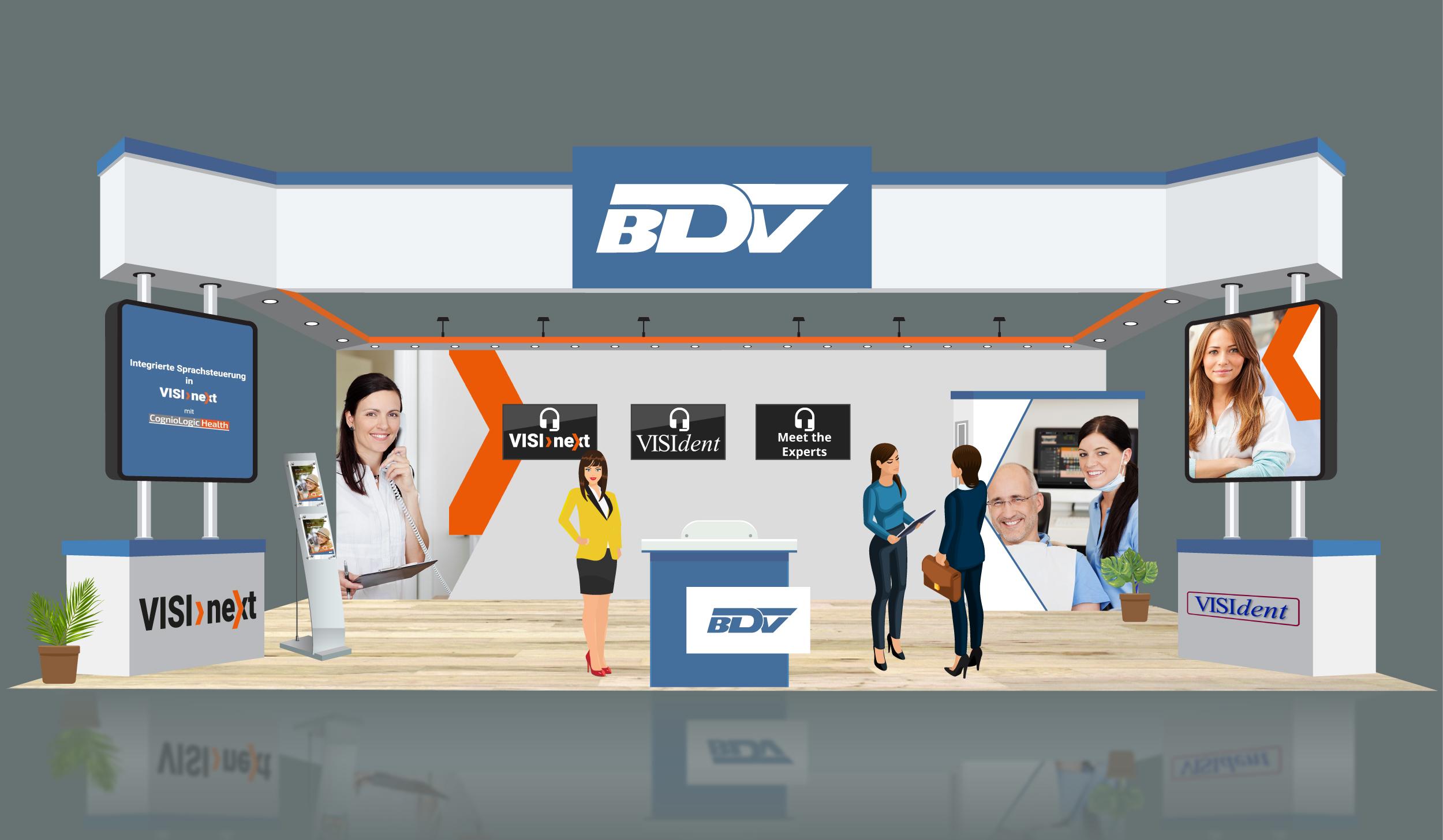 VDDS Frühjahrsmesse 2021 - Messestand der BDV GmbH