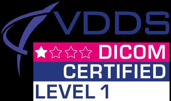 VDDS Dicom Certified - Level 1