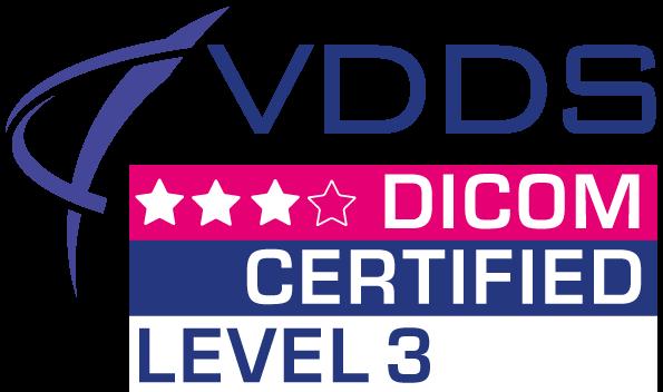 VDDS Dicom Certified - Level 3