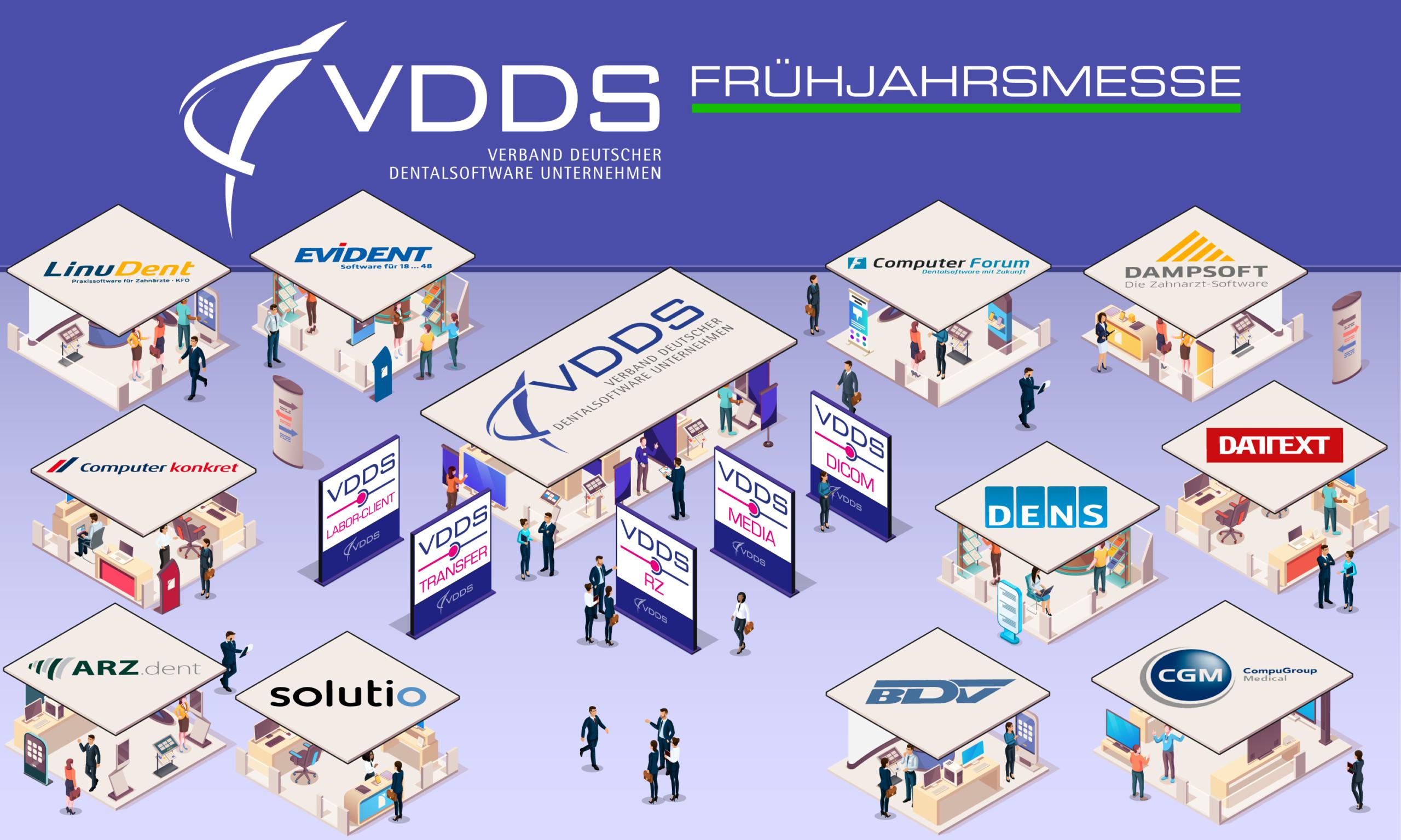 VDDS Frühjahrsmesse 2021 - Standübersicht